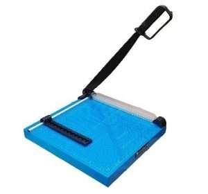 guillotina cortadora metalica